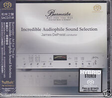 "Burmester ""Incredible Audiophile Sound Selection"" James DePreist Hybrid SACD CD"
