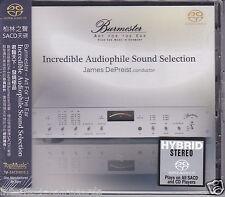 "Burmester ""Incredible Audiophile Sound Selection"" Stereo Hybrid SACD DSD CD New"