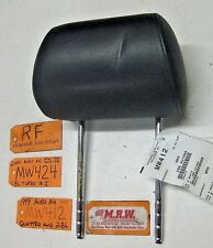 fits FRONT SEAT HEADREST HEAD REST AUDI A4 RIGHT BLACK LEATHER S4 99-02 CAR RH R
