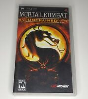 Mortal Kombat Unchained Sony PSP PlayStation Portable No Manual