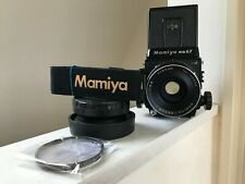 【N Mint w/Hood Strap filter】 Mamiya RB67 Pro S + C 90mm F3.8 120 back from JAPAN