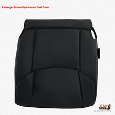 2009 Toyota Avalon - PASSENGER Bottom Leather Replacement Seat Cover Black