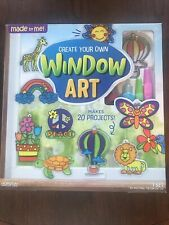 New & Unopened! Window Art! Kit Made By Me Ages 6 Up Horizon Craft Kit For Kids