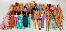 8+ Lbs of Mattel Barbie & Similar Fashion Dolls - Lot