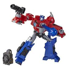Transformers Toys Cyberverse Deluxe Class Optimus Prime Action Figure