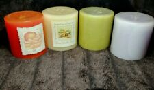 Lot Of 4 Vintage Bath And Body Works Pillar Candles