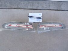 NEW ASTON MARTIN DBS DB9 Vantage Smoked Clear LED Tail lights OEM Virage