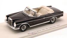 Mercedes 300 Se Cabrio 1963 Black 1:43 Spark S1061 Modellino
