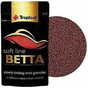 Tropical Softline Betta Mini Granules 5g