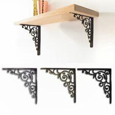 8.5'' Antique Vintage Shelf Bracket Cast Iron Heavy Metal Victorian Design