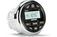 Kicker Marine Media Centre with AUX USB AM/FM and Bluetooth Audio 2 Phono Output