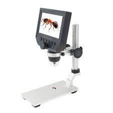 "B29 1000X 4.3"" OLED 8LED Digital Mikroskop Endoskop Lupe Kamera TF-Slot Ständer"