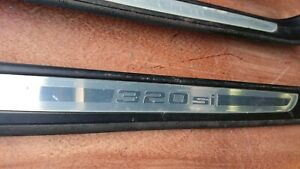 BMW E90 320SI SPECIAL EDITION DOOR ENTRANCE SILL STRIP COVERS FULL SET X4
