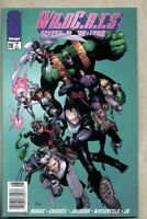 WildC.A.T.S Covert Action Teams #28-1996 vf 8.0 Newsstand Variant Cover Wildcats
