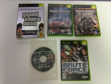 Grand Theft Auto Double Pack / Project Gotham Racing & more - Xbox Games Lot