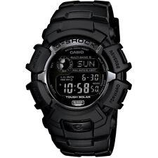 Casio 46.4mm Men's G-Shock Water-Resistant 200M Solar Atomic Watch, Black