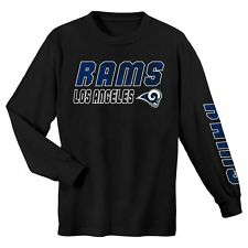 Outerstuff NFL Youth (4-18) Los Angeles Rams Long Sleeve Football Tee