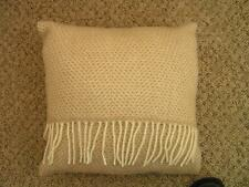 Sofa KISSEN 40 x 40cm + Pad TWEEDMILL TEXTILIEN 100% Wolle - BIENENKORB - BEIGE