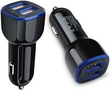 Car Charger,Dual Port Usb Adapter Flush Fit Compatible for Black-03