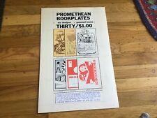 Promethean Enterprises Add - Original Comic Art - Robert Crumb