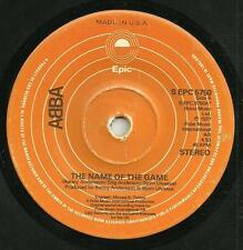 ABBA - THE NAME OF THE GAME/I WONDER(DEPARTURE)- EPIC 1976-70s DISCO LOVE BALLAD