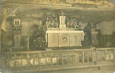 Carte PHoto à identifier Chapelle d'un Stalag près Duisbourg Duisburg