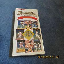 1994 ATLANTA BRAVES MEDIA GUIDE