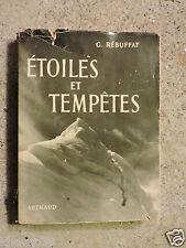 Etoiles et tempêtes  6 faces Nord  Gaston Rébuffat  Sempervivum N°24   1954