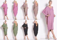 Viscose All Seasons Long Sleeve Dresses for Women