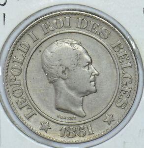 Belgium 1861 20 Cents Lion animal  290371 combine shipping