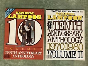 National Lampoon 10th Anniversary Anthology (Volume I and Volume II) Near Mint