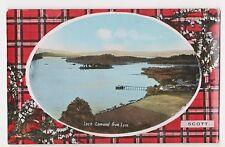 Loch Lomond,Scotland,U.K.Loch Lomond from Luss,Scott Tartan Border,c.1909