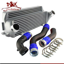 FMIC Intercooler W/ Pipe Piping Hose Kit For BMW 1/2/3/4 Series F20 F22 F32 Blue