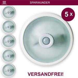 Deckenleuchte Deckenlampe Bewegungsmelder mit Sensor ✅ 360° 2X E27