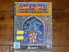 Quest for Glory je. Vous voulez donc être un héros (PC: Windows) Big Box