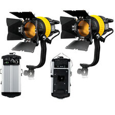 FC500Ax2 High CRI Bi-color 50W LED Spotlight Video continuous fresnel light as a