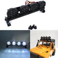 LED Lamp Roof Light Spotlights Bar Searchlight for MN D90 D91 D99S RC Car Model