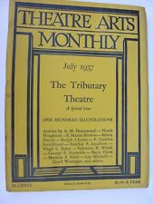More details for theatre arts monthly july 1937 tributary ralph chesse marionette manipulation