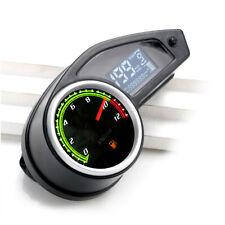 New listing LCD Digital Motorcycle Odometer Speedometer Tachometer Gauge KMH/MPH/Fuel Meter