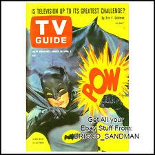 Fridge Fun Refrigerator Magnet BATMAN 1960s TV Guide Magazine Cover Adam West