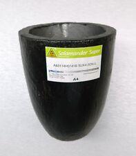 A4 Salamander Morgan Clay Graphite Crucible for Melting Gold Brass Silver Super