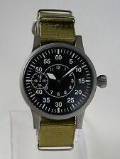 Montre mécanique FLIEGER FL23883 Seagull ST36 type Unitas 6497 watch B-uhr