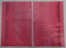 "Qty. 100 Pink High-Density Bags 8.5"" x 11"" Plastic Merchandise Shopping Bag"