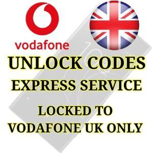 Unlock Code For Vodafone UK Sony Xperia X XA XZ XA ULTRA X COMPACT Z5 M M4 M5