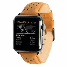 iTEMPOfy Genuine Leather Apple Watch Band for Series 1, 2, 3, 4 and 5