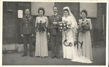 2x WW2 Airman Pilot Bride Wedding Day best man Wedding Day RAF Royal Air Force