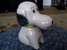 Vintage Collectible Snoopy Bank Ceramic