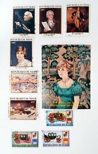 Princess Diana Niger Cancelled Stamps Hinged ch387