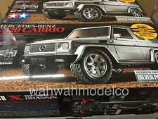 Tamiya 1:10 Mf01X Mercedes Benz G 320 Cabrio 4Wd Ep Rc Cars Kit 58635 silver