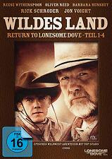 "2 DVDs * WILDES LAND - RETURN TO LONESOME DOVE - TEIL 1 - 4 # NEU OVP """